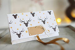 Papiernictvo - Vianočná obálka na peniaze - 8841313_