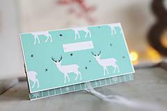Papiernictvo - Vianočná obálka na peniaze - 8841353_