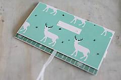 Papiernictvo - Vianočná obálka na peniaze - 8841354_