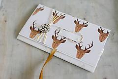 Papiernictvo - Scrapbook vianočná obálka na peniaze - 8845227_