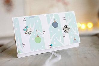 Papiernictvo - Vianočná obálka na peniaze - 8841344_