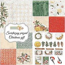 Papier - 30,5x30,5cm Christmas gift papierový set - 8841773_