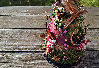 Dekorácie - Vianočný stromček prírodný - 8843235_