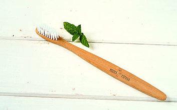 Drogéria - Zdravá bambusová zubná kefka - 8840373_