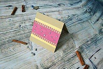 Darčekové poukážky - vianočný pozdrav (ľadové vločky) - 8842835_
