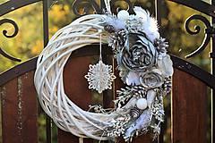Dekorácie - Vianočný venček - 8841507_