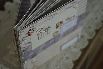 Papiernictvo - Fotoalbum pre dievča/slečnu/dcéru - 8846035_