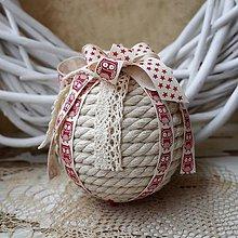 Dekorácie - Vianočná guľa *70 - 8845401_