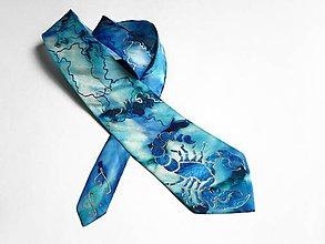 Doplnky - Luxusní kravata - Štír- SD-H-014 - 8841486_