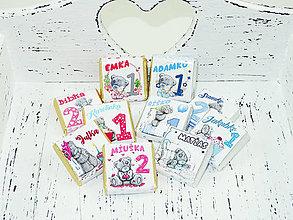 Drobnosti - Čokoládky baby girl - 8845812_