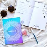 Papiernictvo - Denník Vďačnosti ♥ Poštovné ZDARMA♥ - 8842368_
