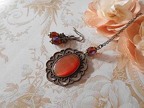 Sady šperkov - Mačacie oko III. - ZĽAVA z 5,60 eur - 8843807_