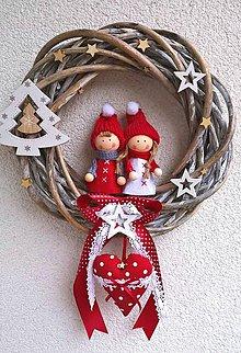Dekorácie - Vianočný venček.. - 8842151_