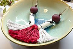 """- Strapcový náhrdelník """"Maui Red"""" - 8844193_"""