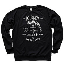Mikiny - The Journey Of A Thousand Miles Begins With A Single Step - 8844506_