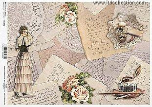 Papier - ryžový papier ITD 1321 - 8841962_