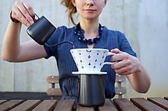 Nádoby - Sada Luhačovský překapávač na kávu + 2 hrnky - 8846080_