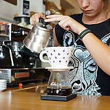 Nádoby - Sada Luhačovský překapávač na kávu + 2 hrnky - 8846081_