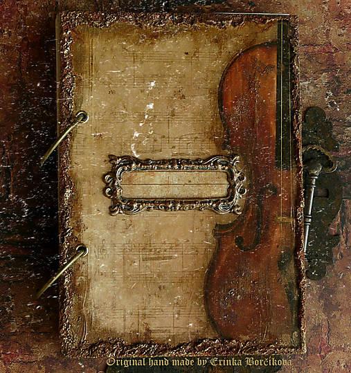 Krásna hudba pán kráľ......to sú tóny života/ posledný kus (Diár smotanové strany/ banán zvnútra/ 1 deň/ 1 strana)
