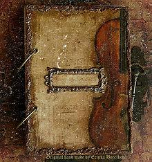 Papiernictvo - Krásna hudba pán kráľ......to sú tóny života/ posledný kus (Diár smotanové strany/ ako banán zvnútra/ 1 deň/ 1 strana) - 8842984_