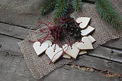 Dekorácie - Keramické srdiečko smotanové - 8840871_