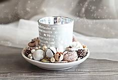 Dekorácie - Vianočný kúzelný svietnik - 8840701_