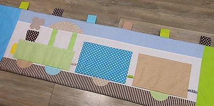Úžitkový textil - Zástena Modrý Expres - 8848171_