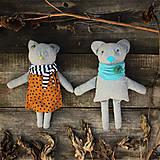 Hračky - medveď. recyklovaný. - 8850354_