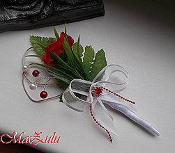 Pierka - svadobné pierko pre ženícha XI. - 8849627_