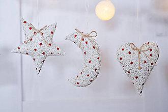 Dekorácie - Sada vianočných ozdôb - 8846484_