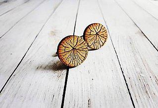 Šperky - Manžetové gombíky drevené - 8848078_