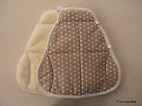 Textil - Hrejivá podložka do autosedačky Cybex PALLAS M-FIX 9-36 kg, 1-12 rokov 100% Merino - 8847003_