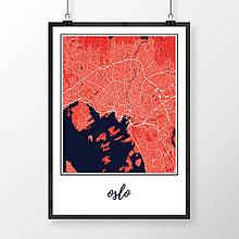 Obrazy - OSLO, klasické, červené - 8849200_