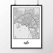 Obrazy - OSLO, klasické, biele - 8850143_