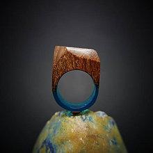 Prstene - Drevený prsteň: Moje svety sa prelínajú - 8851326_