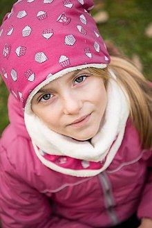 Detské čiapky - Zimný komplet - chlapec/dievča. - 8847448_