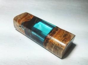 Náhrdelníky - Modrý šperk - 8846412_