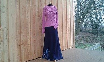 Sukne - Fleecová sukně na míru - Anděl - 8849753_