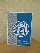 Papiernictvo - Vianočná pohľadnica -