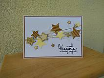 Papiernictvo - Vianočná pohľadnica