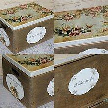 Krabičky - svadobná krabica na želanie - 8848809_