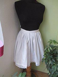Sukne - Spodnička pod krojovú sukňu - 8847050_