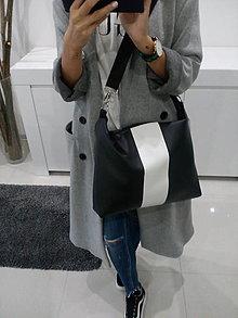 Veľké tašky - BLaCk & wHite TAŠKA - 8848979_