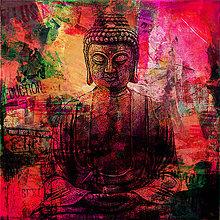 Obrazy - Pop Art obraz Budha - 8848110_