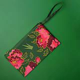 Listová kabelka s korunkou - Pivónia