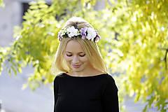 Ozdoby do vlasov - Venček Saša - 8846599_