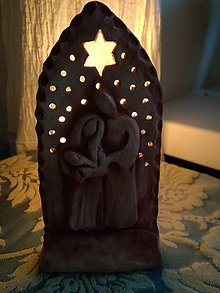 Svietidlá a sviečky - Betlehem - 8852502_