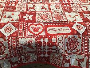 Úžitkový textil - Veľký vianočný obrus - 8854504_