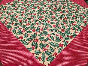 Úžitkový textil - Vianočný obrus Cezmína - 8854603_