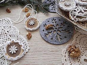 Dekorácie - Vianočné trvanlivé pečivo:-) sada - 8852306_